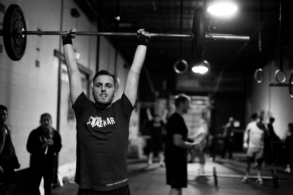 Brad at Crossfit Open Games 2014